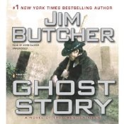 Jim Butcher Ghost Story audio book cover
