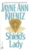 Shield's Lady bookcover (as reissued with Jayne Ann Krentz as author)